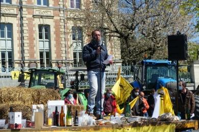 13 avril : Manif de la conf à Rennes pour la PAC