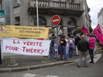 15 juin 2017 - Tass à St brieuc : soutien à la famille Mofoisse - Algues vertes