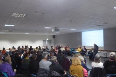 14 fev 2020 - PLOERMEL (56) : débat sur le modèle agricole