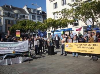 14 octobre 2017 - Manif contre le glyphosate à Lorient