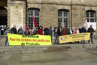 14 octobre 2020 - soutien à E. LE GOFFIC à RENNES