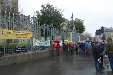 19 dec 2019 - RENNES : manifestation soutien Conf