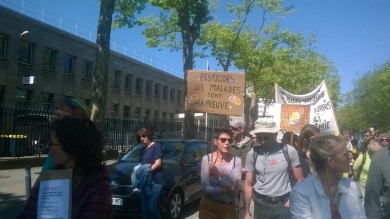 19 mai 2018 - manif contre Monsanto
