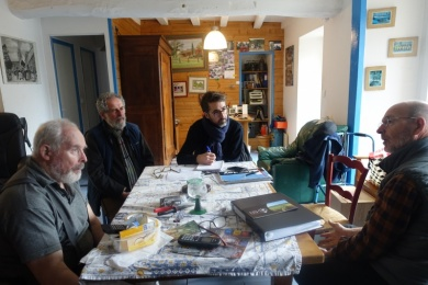 20 dec 2019 - GUER(56) : interview de Jacques et Albert