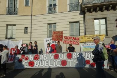 22 août 2019 - soutien à Daniel Cueff devant le tribunal administratif