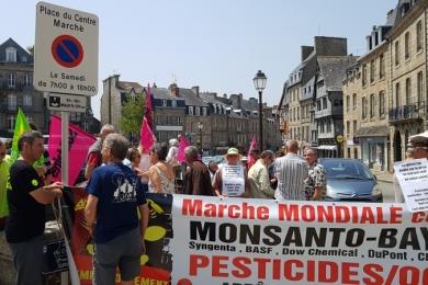 27 juin 2019 - tribunal des prud'hommes à GUINGAMP (22) ; soutien à Pascal BRIGANT et Claude LE GUYADER