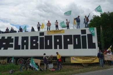 29 juin 2021 : action sur le Tour de France