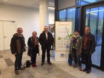3 novembre 2017 - réunion avec la MSA , à Paris
