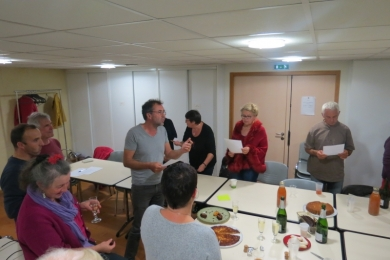 3 octobre 2017- réunion du collectif à Betton