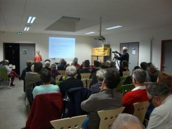 """30 janvier 2018 - conférence sur """"Propolis et cancer"""" , avec Françoise Sauvager"""