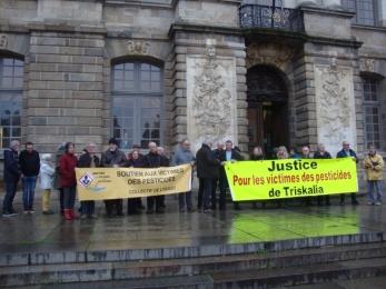 30 janvier 2018 - Rennes : soutien à Pascal et Claude, cour d'appel
