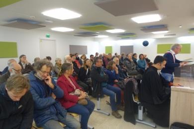 30 octobre 2019 - soutien au maire de Plouneour Menez