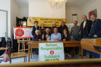4 mars 2020 - BETTON : signature pacte de transition