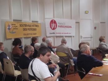 5 mai 2018 - réunion avec France Parkinson