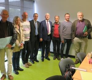 6 juin 2018 - rencontre des auditeurs de la comission européenne