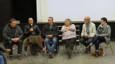 9 février 2018- St Nolff : ciné-débat avec J. FERRAND, J. LABBE, L. LE GOFF