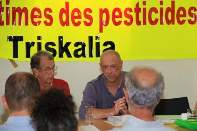 9 septembre 2016 - Conférence de presse à Rennes, de Raymond et Noel POULIQUEN