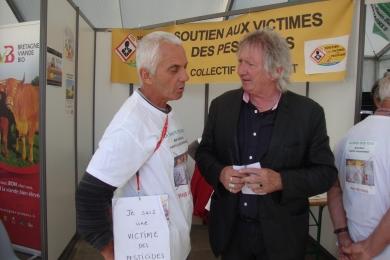 28 septembre 2016 - Participation à la foire Bio à Retiers