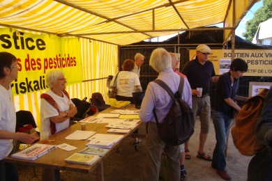 11 septembre 2016 - Participation à la foire Biozone à Mûr de Bretagne (22)