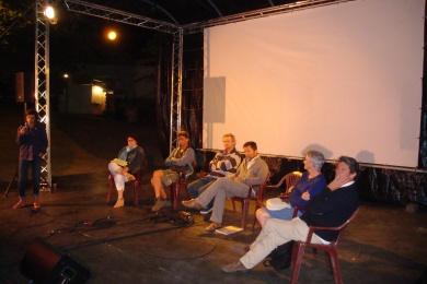 8 septembre 2016 - Participation à un ciné-débat au Landreau (44)