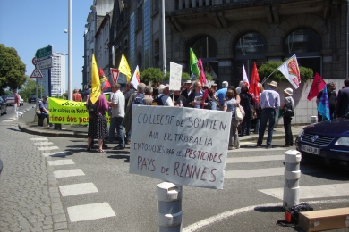 4 juin 2015 - Rassemblement de soutien à E. Le Goffic