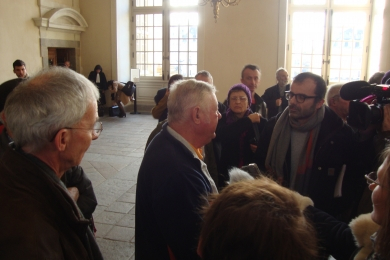 11 novembre 2015 - Tass de Rennes : soutien à Raymond Pouliquen