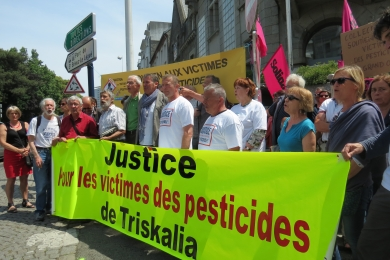 10 juin 2016 - Tass de St Brieuc : soutien à Laurent Guillou et Stéphane Rouxel