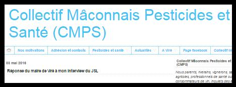 Collectif Maconnais Pesticides et Santé ( CMPS)