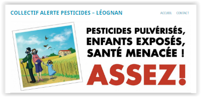 Collectif Alerte Pesticides – LEOGNAN